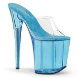 High Heels Flamingo-801T von Pleaser blau