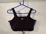 ADDIDAS Sports Bra Black/Blue