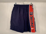 NIKE Navy/Red Mesh Lined Shorts