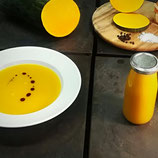 Kürbiscreme Suppe
