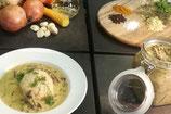 Lammbeuschel mit Curry