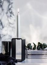 1glow high Kerzenständer schwarz