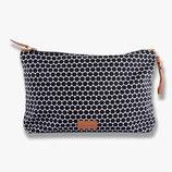 Vanity Bag/ Kosmetiktasche Grid  schwarz/weiß Mette Ditmer