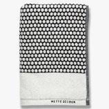 Handtuchserie Grid Schwarz/ Weiß Mette Ditmer