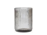 Vase smoked grey