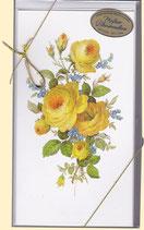 "Meißner Blumenmalerei - Faltbriefe ""Rose"""