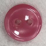 Knoop glanzend met een randje roze