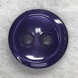 Knoop glanzend met een randje paars