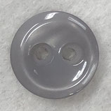 Knoop glanzend met een randje zilvergrijs