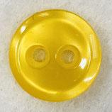 Knoop glanzend met een randje geel