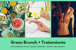 Vale Regalo Green Brunch + Tratamiento para 2 pax