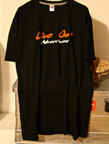 T-SHIRT LIVE OUT NERA