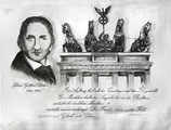 Quadriga - Johann-Gottfried Schadow - Radierung