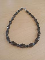 Collier perles twistées