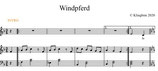 Noten Windpferd