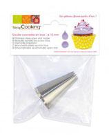 DOUILLE CANNELE INOX 10mm