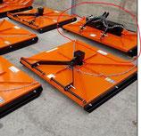 AGRO - X2 RM verschiedene Breiten mit 2 Rotormessern