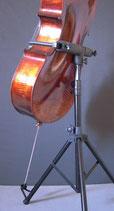 Support pour violoncelles