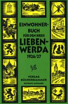 Einwohnerbuch für den Kreis Liebenwerda mit seinen 81 Landgemeinden und 25 Gutsbezirken 1926/27