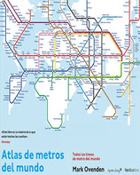 Atlas de metros del mundo /  Mark Ovenden