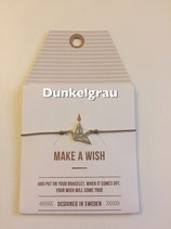 Make a Wish Armband - Origami Kranich silber - Mint Sweden