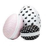 Tafelgut Papp-Eier zum Befüllen im 3er Set