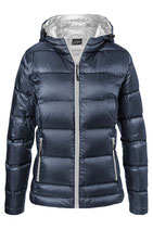 Ladies Down Jacket Olive/Camouflage or Navy/silver