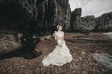 白 マーメイドドレス