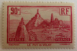 N°290  90 c. lilas rose, le Puy en Velay