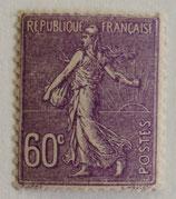 N°200 60 c. lilas, type semeuse