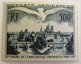 N°20 P.A. 500 f. vert foncé, Vue de Paris