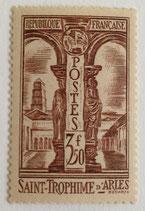 N°302  3 f. 50 c brun, Saint-Triomphe d'Arles