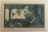 N°337 30c. vert-gris, Jean Mermoz