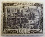 N°29 P.A. 1000 f. noir, Vue de Paris