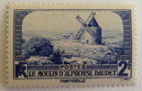 N°311 2 f. outremer, le moulin d'Alphonse Daudet