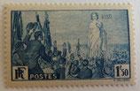 N°328 1 f. 50 bleu, Rassemblement universel pour la Paix