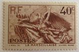 N°315 40 c. vert, La Marseillaise