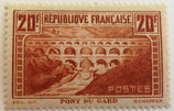 N°262 20 frans chaudron, le pont du Gard