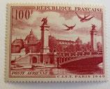 N°28 P.A. 100 f. rouge-brun, Vue de Paris