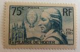 N°313 75 c. bleu-vert, François Pilâtre de Rozier