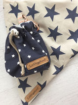 Leckerli-Beutel meets Bandana - Stars are beautiful -