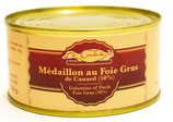 Médaillon au foie-gras de canard (50%)