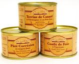 Terrine de canard à l'armagnac et au Foie-gras
