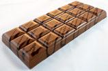 Tablettes de chocolat lait 35% praliné amandes noisettes 100g