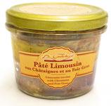 Pâté Limousin aux châtaignes et au foie-gras 180g