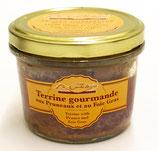 Terrine de gourmande aux pruneaux et au foie-gras 180g