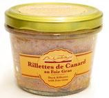 Rillettes de Canard au Foie-gras 180g