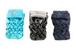 Handytasche aus gesmokten Leder