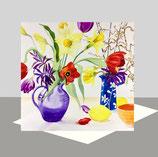 Spring Zing Greeting Card