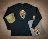 Long Sleve T-Shirt Skull Logo